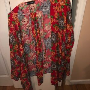 Brand new never worn wrap top